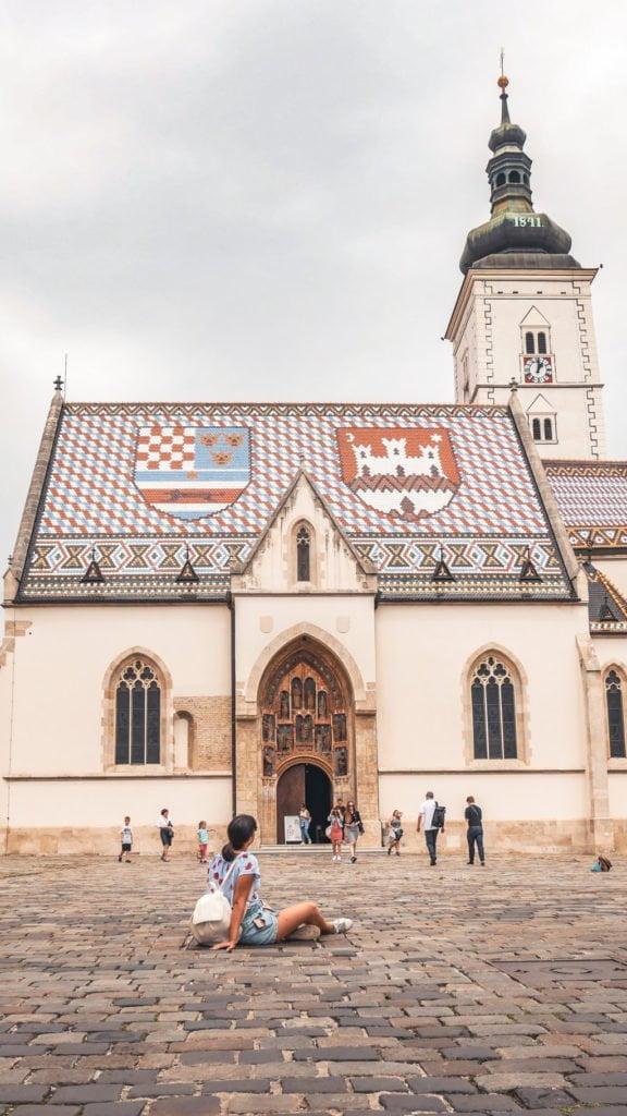 Primo viaggio da sola, Zagabria, Croazia