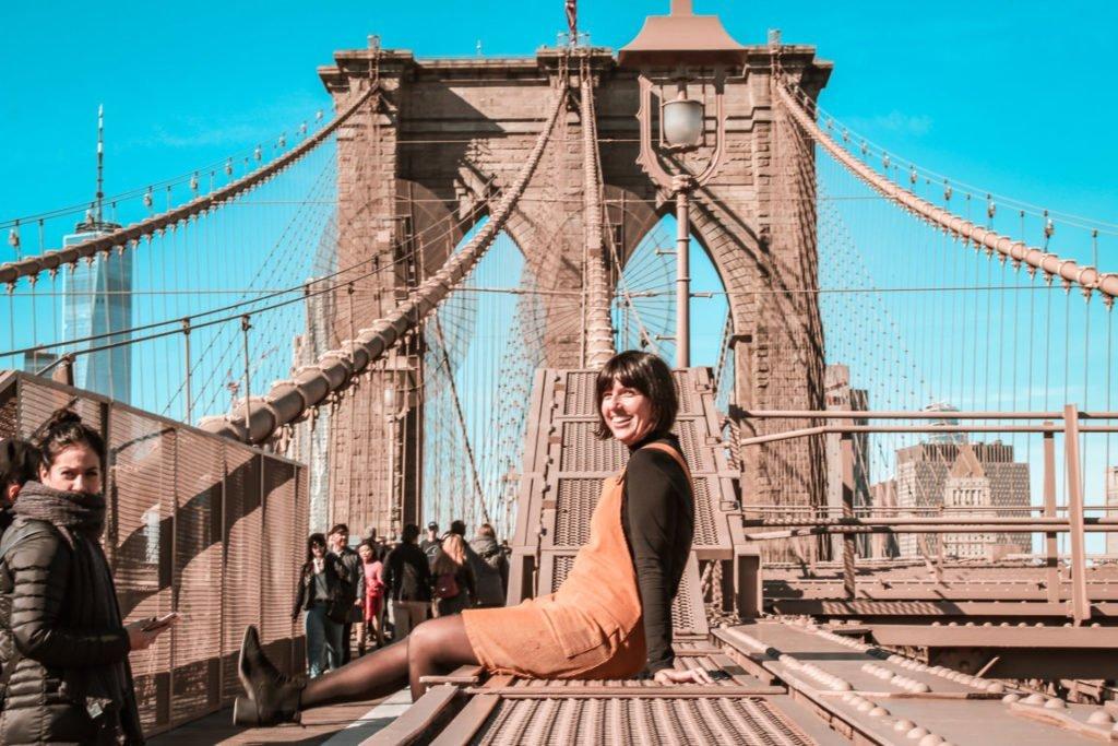 Primo viaggio da sola, New York
