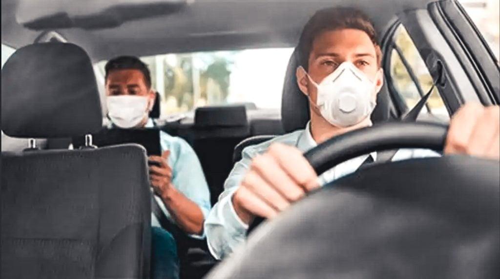 disposizione all'interno dell'auto nella fase 2