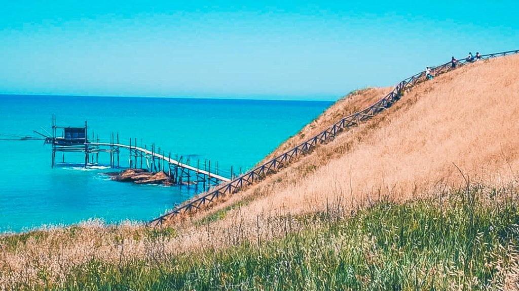 via verde della costa dei trabocchi, Riserva di Punta Aderci
