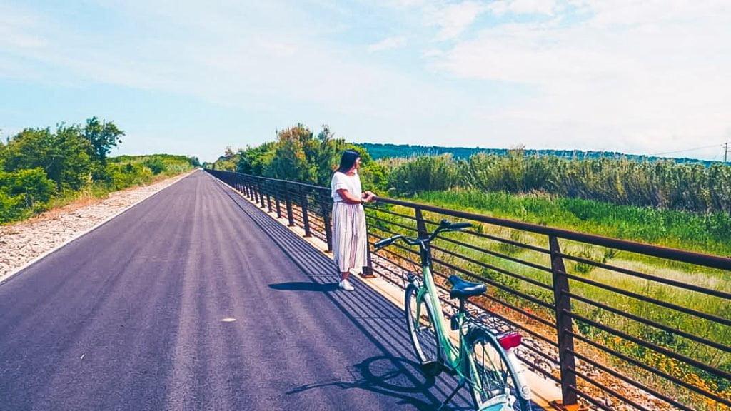 via verde della costa dei trabocchi, tratto Fossacesia-Torino di Sangro