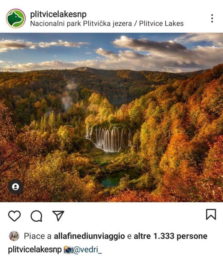 5 posti dove vedere il foliage in Europa, Laghi di Plitvice, Croazia