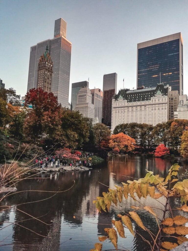 5 posti dove vedere il foliage nel mondo, Central Park, New York (2)
