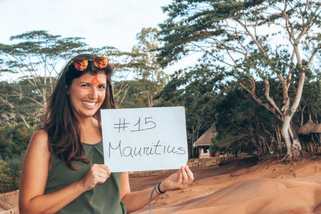 viaggio in solitaria alle Mauritius