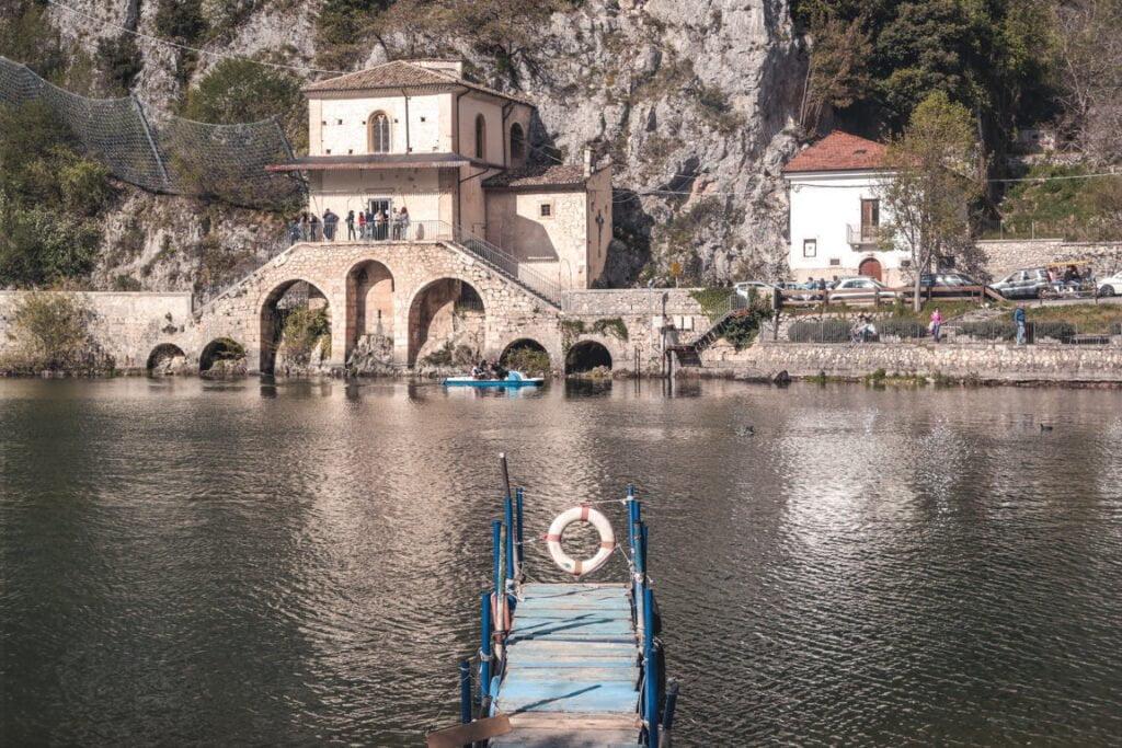 chiesetta della Madonna del lago