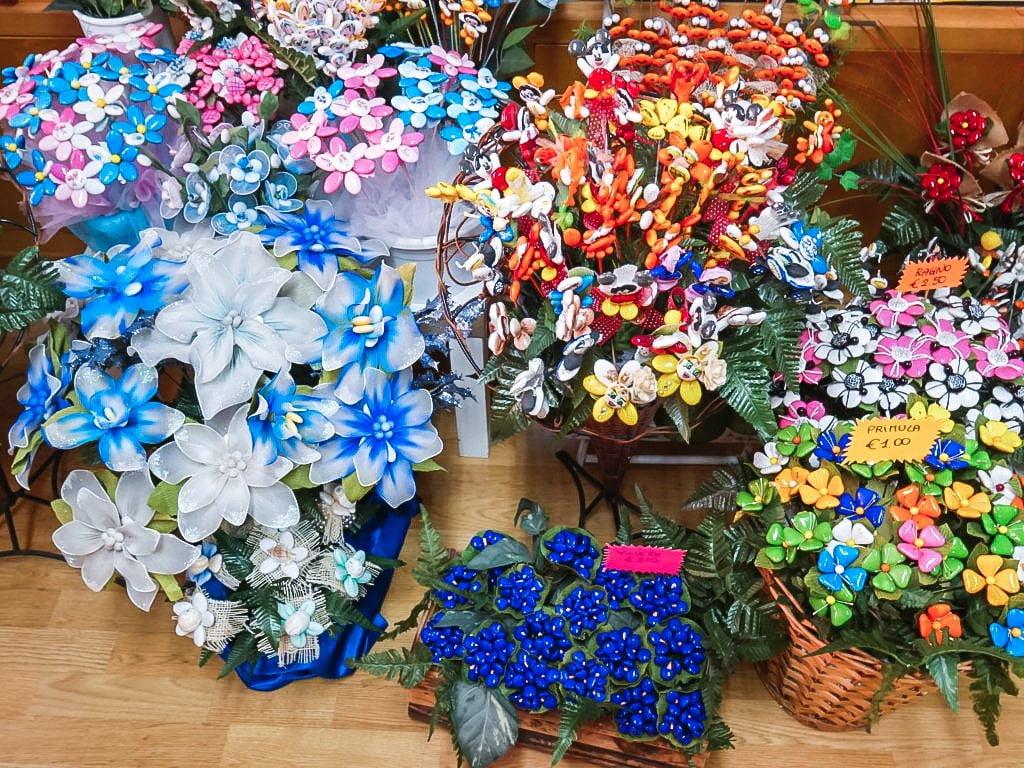 decorazioni con i confetti