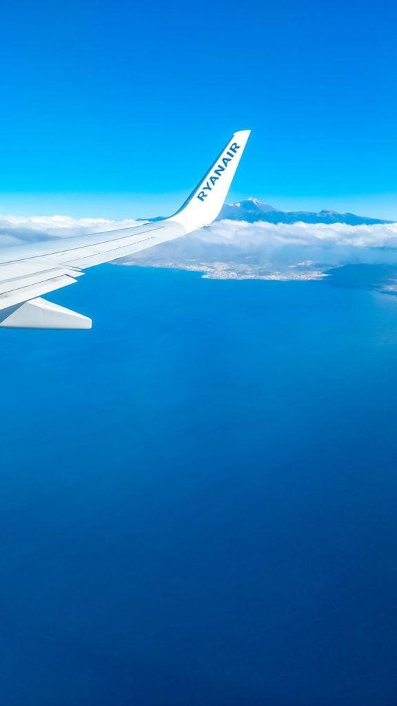 trasferirsi alle Canarie durante la pandemia, volo operativo  Ryanair Bergamo-Tenerife