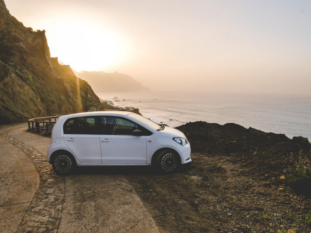 Vacanza a Tenerife, noleggio auto