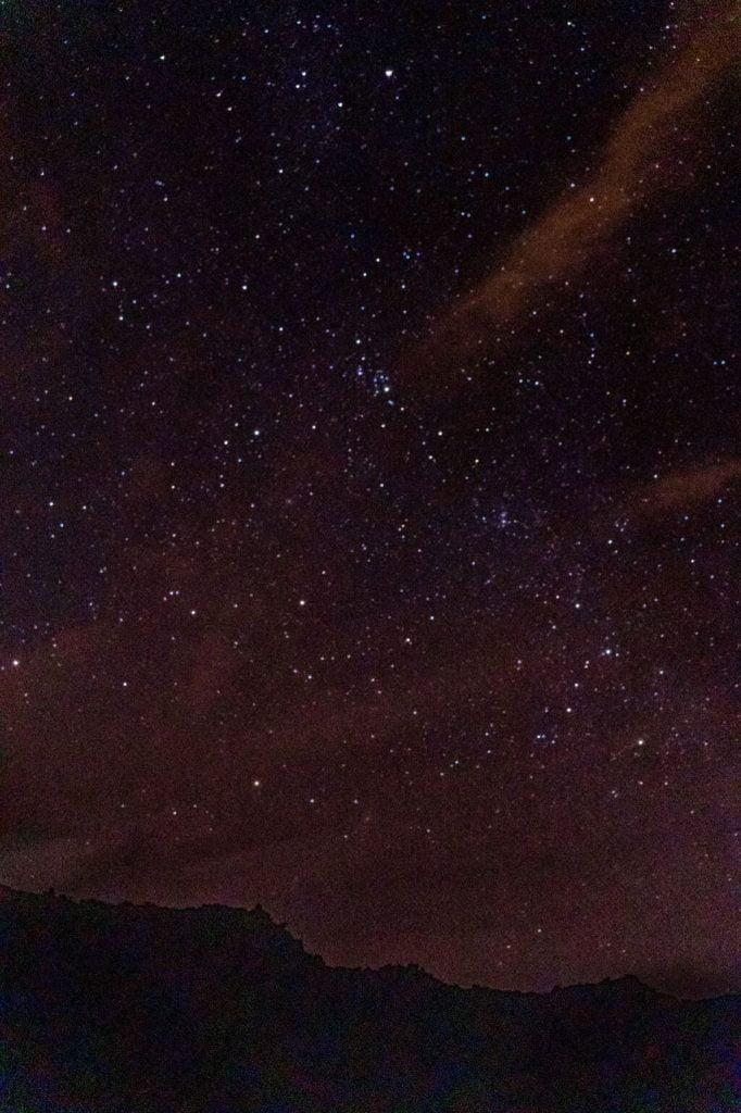 cosa fare a tenerife, ammirare le stelle dal Teide