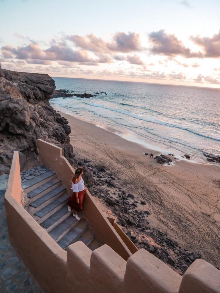 cosa vedere a Fuerteventura, Playa de La Escalera