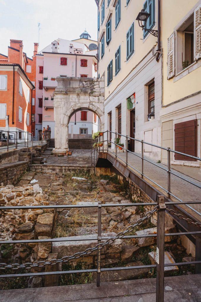 cosa vedere a Trieste in un giorno, Arco Riccardo