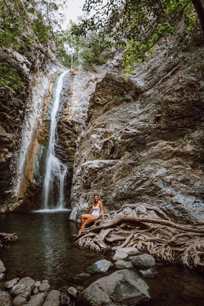 Cosa vedere a Cipro, parte greca, cascate millomeris