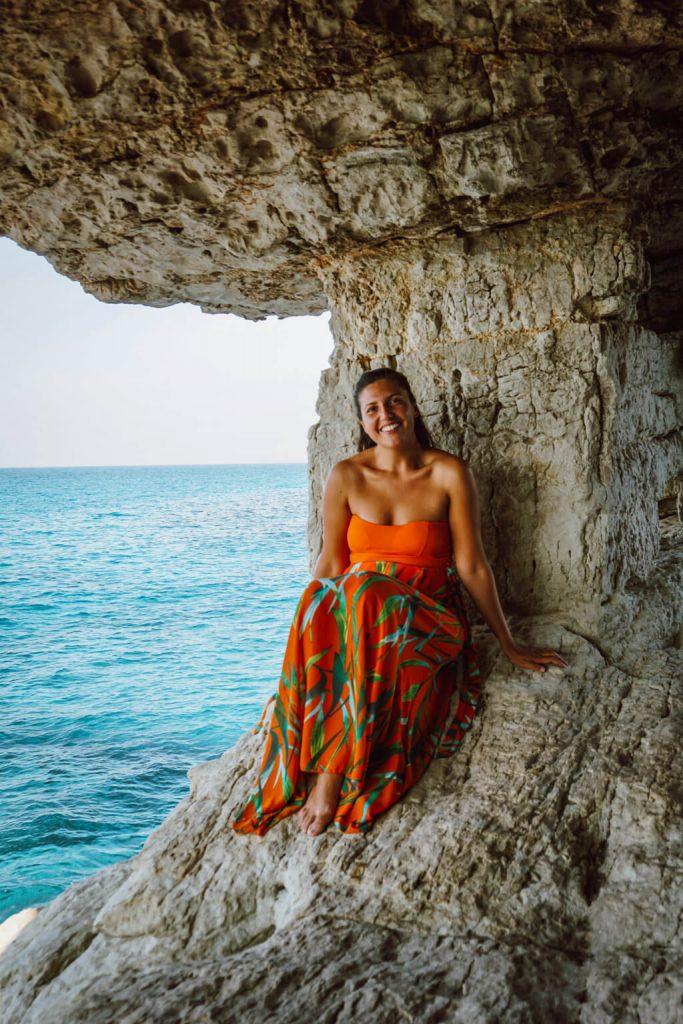 Cosa vedere a Cipro, parte greca, sea caves