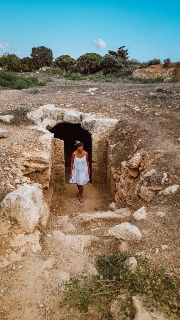 Cosa vedere a Cipro, parte greca, tomba dei re