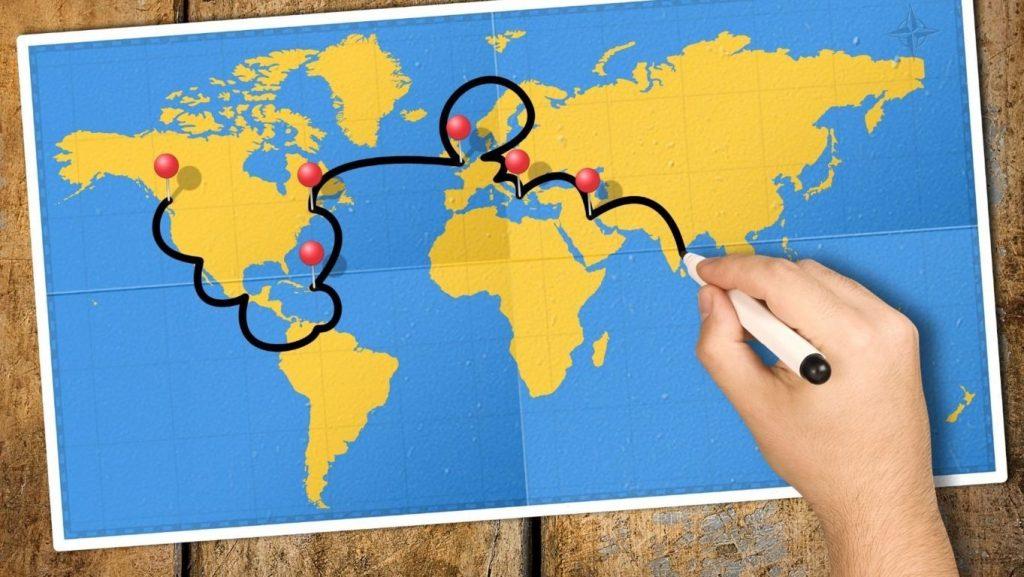 come convincere i genitori ad andare in vacanza da sola, condividi l'itinerario di viaggio